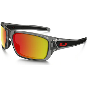 Oakley Turbine Brillenglas, grey ink/ruby iridium polarized